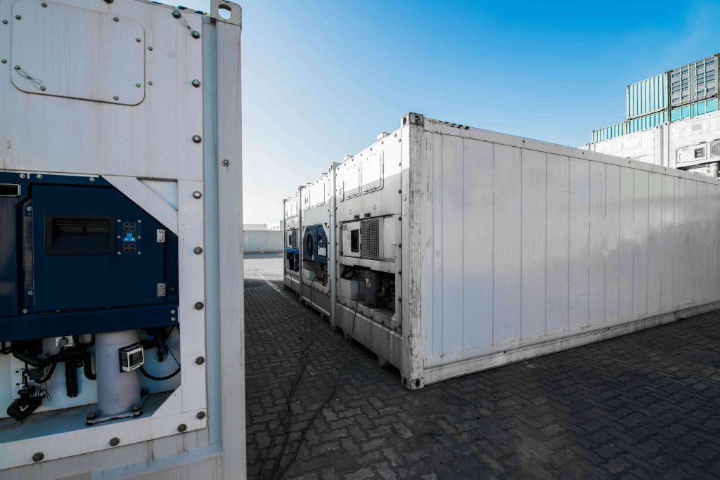 Contenedores refrigeradores, consumo de energía